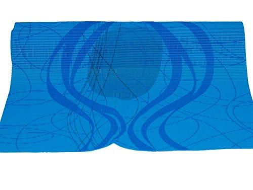 Friedola 25607 Miami Tischläufer Hellblau/Blau 150x40cm (FP33)