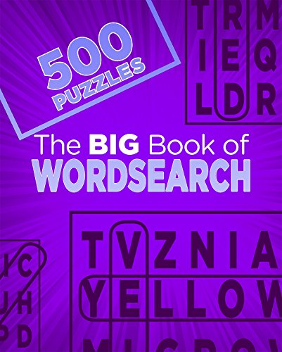 The Big Book of Wordsearch: 500 Puzzles Test