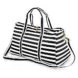 Collins12 Women Waterproof Weekender Bag Travel Duffel Tote Bag Weekend Overnight Travel Holdall