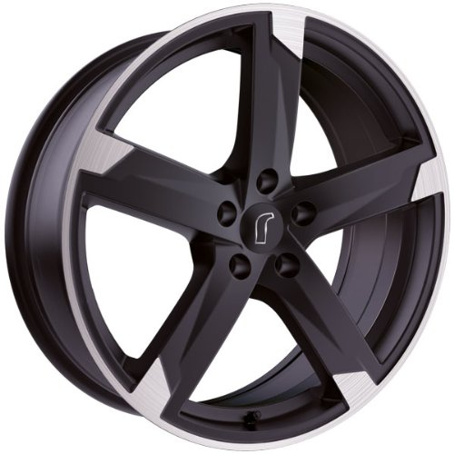1 x Rondell Z Design 01RZ in 8,0 x 18 ET 45 LZ/LK 5 x 108 Farbe Schwarz matt, poliert für Ford Galaxy Typ WA6