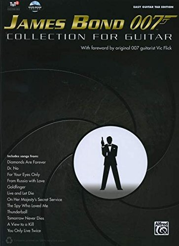 james-bond-007-collection-for-guitar-easy-guitar-tab-book-dvd-rom-easy-guitar-tab-editions