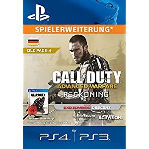 Call of Duty: Advanced Warfare – Reckoning [Spielerweiterung] [PS4 PS3 PSN Code – deutsches Konto]