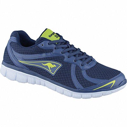 Kangaroos K-Charger Damen, Herren Synthetik Sneakers blue, 4238101/37 Blau