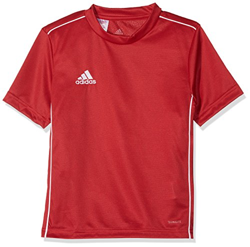 adidas Kinder CORE18 Y Jersey, Rot (power red/White), 128 -