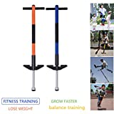 GYMAX Pogo Stick, Jump Bounce Stick Toy For Kids with Non-slip Foot Pad