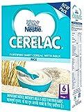 #4: Nestlé CERELAC Infant Cereal Stage-1 (6 Months-24 Months) Rice 300g