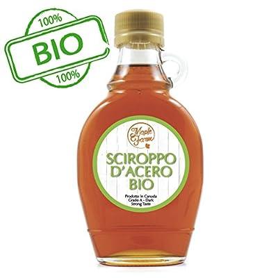 Kanadischer BIO Ahornsirup Grad A (Dark, Robust taste) - 250g (189 ml) - Organic Maple Syrup