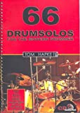 Tom Hapke: 66 Drumsolos For The Modern Drummer. Für Schlagzeug