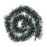 BESTOYARD 3pcs Tinsel Ghirlanda Metallico Appeso Banner Decorazione dell'albero di Natale Stelle filanti