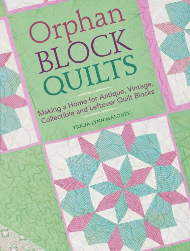 Orphan Block Quilts: Making a Home for Antique, Vintage, Collectible and Leftover Quilt Blocks (English Edition) -