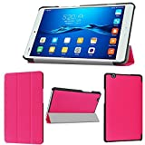 wisers Huawei MediaPad M3 , BTV-W09 BTV-DL09 8.4-inch tablet case / cover, slim type, pink