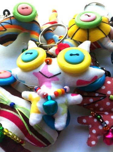 Image of Mutant Bag Dolls - Pack of 5 - Handmade Decorative Monster Dolls - Moshi