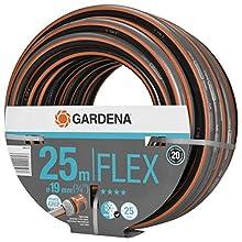 """Tubo GARDENA Comfort FLEX da 19 mm (3/4""""), 25 m: Tubo da giardino flessibile, pressione di scoppio di 25 bar, senza componenti di sistema (18053-20)"""
