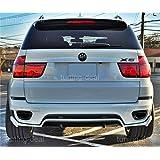 BMW X5E70LCI 06/2010-2013-Enfoque difusor trasero aerodinámica Paquete de Look