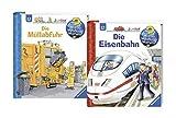 Ravensburger Junior Bücher Set - Wieso? Weshalb? Warum? Die Müllabfuhr und Die Eisenbahn