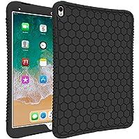 Fintie Nuevo iPad Pro 10.5 2017 Funda - [Honey Comb Series] Ligero Case Funda Protectora de Silicón para iPad Pro 10.5 2017 Versión, Negro