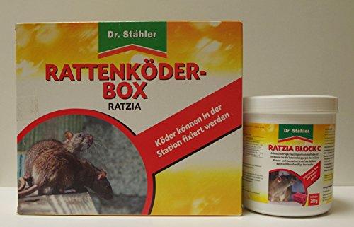 AB. Construction Concept GbR© Offre combinée : Dr. Stähler ratzia Bloc C et rat Leurre Box