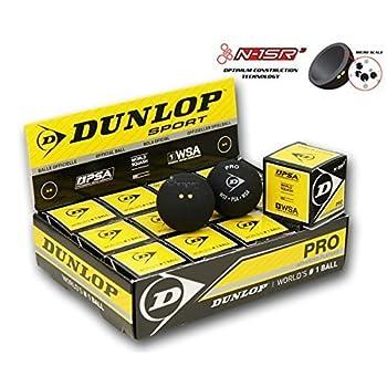 pelotas DUnlop Pro Squash...