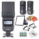 Pantalla digital LCD NW690/MK950II para flash ETTL de Neewer para cámaras...