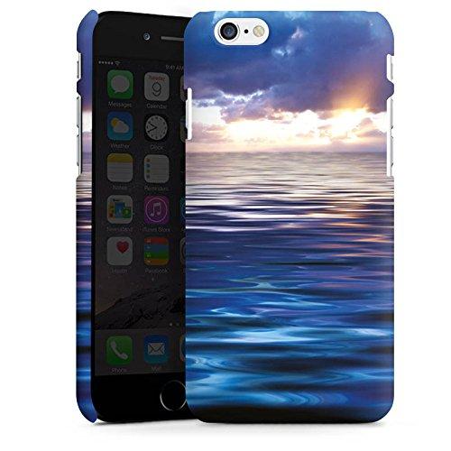 Apple iPhone X Silikon Hülle Case Schutzhülle Ozean Sonnenuntergang Meer Premium Case matt