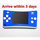 "Handheld Game Console,2.5"" LCD Portable Game Console Speaker (Blue+ White) (3 X AAA) 152 In 1 Games"