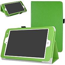 "Chuwi Hi8 Pro / Hi8 / Vi8 Plus Funda,Mama Mouth Slim PU Cuero Con Soporte Funda Caso Case para 8"" Chuwi Hi8 Pro / Hi8 / Vi8 Plus Windows 10 & Android 5.1 Dual sistemas Tablet PC,verde"