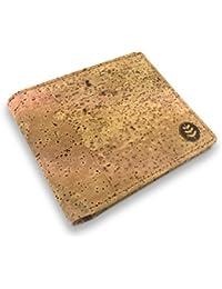 3d1bfe6758 Money Smart Portafoglio Super Leggero di Sughero Naturale con Blocco anti  RFID, Scomparti per Banconote