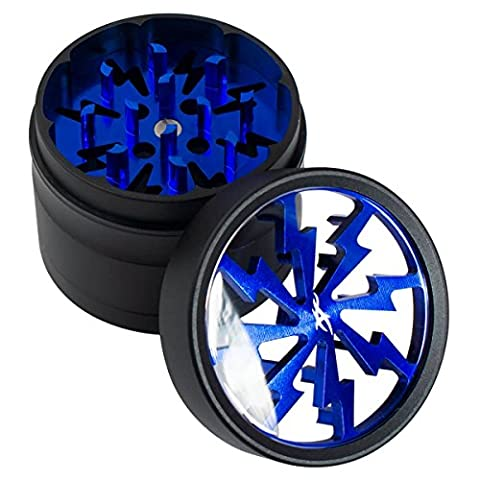 thorinder 50mm Mini à herbes 4pièces couleur: bleu Broyeur de