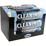 Kent KCQ6600 Microfibre Cleaning Towels, Set of 6