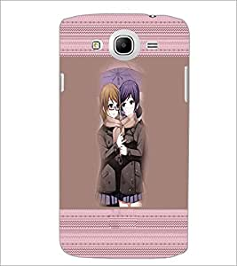 PrintDhaba Friends D-5656 Back Case Cover for SAMSUNG GALAXY MEGA 5.8 (Multi-Coloured)