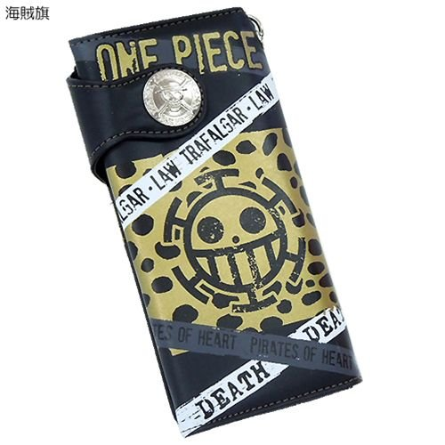 . Trafalgar Law One Piece portefeuille portefeuille (LAW) Drapeau de pirate ver (japon importation)
