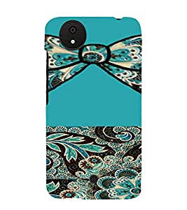 PrintVisa Ethnic Bow Pattern 3D Hard Polycarbonate Designer Back Case Cover for Micromax Canvas Android A1