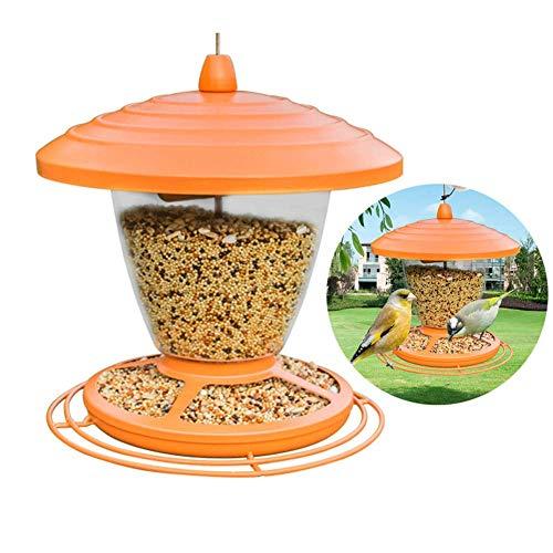 RSGK Bird Outdoor Feeder, Classic Tube Hanging Feeders Garten im Freien Hinterhof Dekorative Great, Premium Hartplastik für die Anziehung von Vögeln im Freien, Haustier, Hinterhof, Garten -