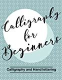 Calligraphy for Beginners. Calligraphy and Hand lettering: Calligraphy alphabets for beginners. Hand Lettering Workbook :Training, Exercises and Practice (Lettering for beginners) (English Edition)