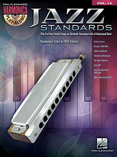 Jazz standards harmonica+CD (Hal Leonard Harmonica Play-Along)