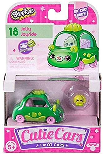 Shopkins Cutie Cars - # 18 Jelly Joyride - Die cast Body - Neu