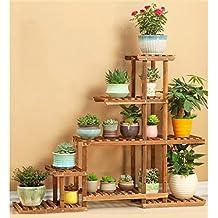 Estanterias para macetas - Como decorar una estanteria de madera ...