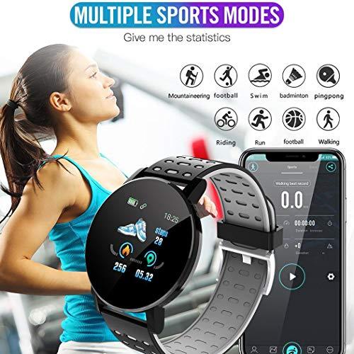 tiowea Touchscreen Smart Watch Sport IP67 Wasserdichter Herzfrequenz-Schlafmonitor Smartwatches