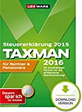 TAXMAN 2016 für Rentner & Pensionäre (für Steuerjahr 2015)