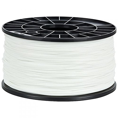 NuNus ABS Filament 1.75mm, 1kg Filament, Weiß für 3D Drucker MakerBot RepRap MakerGear Ultimaker uvm.