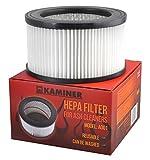 Ersatzfilter für Aschesauger Kaminsauger HEPA Filter 16 x 9 cm #857