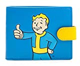 Fallout 4 Brieftasche Vault Boy Approves Nue offiziell Xbox PS1 Gamer Blau Test