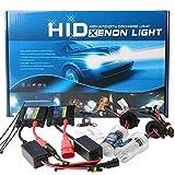 2 Pezzi H7 HID Kit di conversione Xenon HID+Slim Ballast Alimentatore da 55 W Slim Ballast 12V 6000K Super Bright-High Quanlity-Canbus senza errori