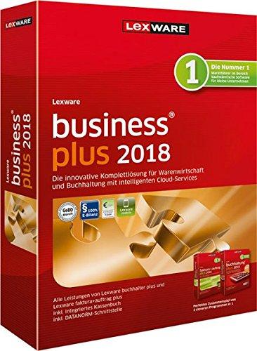 Lexware business plus 2018 | Minibox (Jahreslizenz) für Kleinunternehmer | kaufmännische Einsteiger und Gründer | Software für Buchhaltung und Auftragsbearbeitung | Kompatibel mit Windows 7 und aktueller