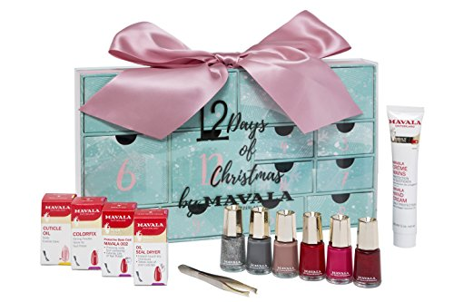 Mavala 12 Days of Christmas for Nails and Hand Care