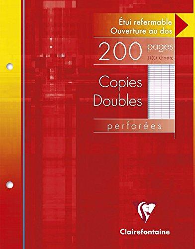 clairefontaine-4411c-paquet-de-5-etuis-de-200-copies-doubles-perforees-17-x-22-200-pages-seyes