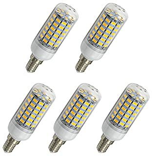 Aoxdi 5X LED Corn bulbs E14 10W, Warm White,69 SMD 5730 E14 LED Corn Bulb Lamp, AC 220-240V
