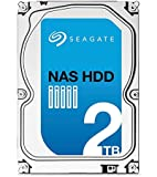 Seagate NAS HDD - 2 TB - interne Festplatte, ST2000VN000 (3,5 Zoll), 5900rpm, 64 MB Cache, SATA III für NAS-Betrieb