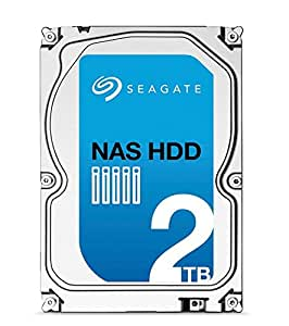 Seagate ST2000VN000 2TB NAS HDD SATA III 3.5 inch Internal Hard Disk Drive for 1- to 8-Bay NAS Systems