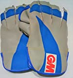 #3: Wicket Keeping Gloves. Leather Gloves for Cricket, Color As per Availability,